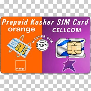 Subscriber Identity Module Mobile Phones Prepay Mobile Phone Orange S.A. Israel PNG