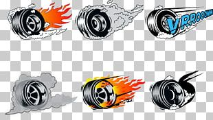 Car Wheel Burnout PNG