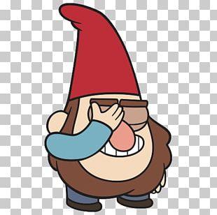 Sticker Telegram VKontakte Dwarf Gnome PNG