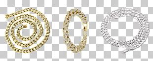 Chain Colored Gold Necklace Jewellery PNG