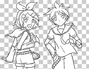 Colouring Pages Coloring Book Kagamine Rin/Len Hatsune Miku Vocaloid PNG