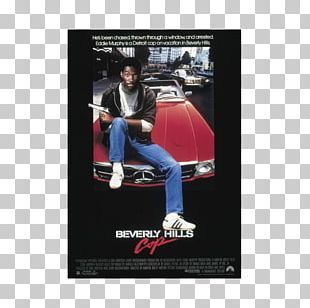 Axel Foley Beverly Hills Cop Film Poster PNG