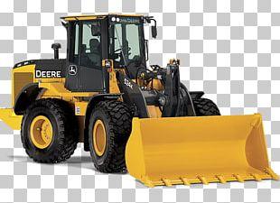 John Deere Caterpillar Inc. Backhoe Loader Heavy Machinery PNG