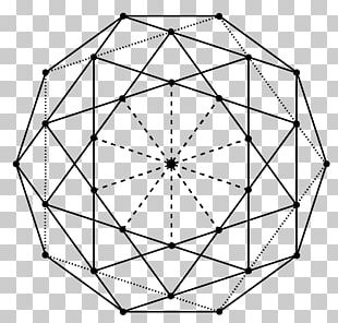 Line Point Angle Geometry Decagon PNG