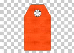 Price Tag Orange PNG
