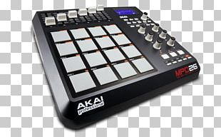 Akai MPD26 Akai MPC MIDI Controllers Musical Instruments PNG