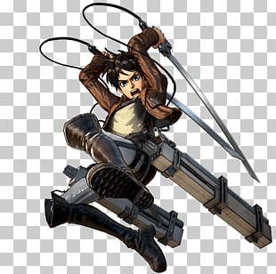 Eren Yeager Attack On Titan 2 A.O.T.: Wings Of Freedom Armin Arlert Mikasa Ackerman PNG