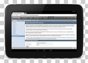 Handheld Devices Computer Software Push Technology Zenoss Core PNG