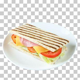 Breakfast Sandwich Toast Ham Full Breakfast PNG