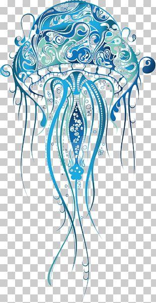 Jellyfish Sleeve Tattoo Drawing Tattoo Artist PNG