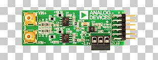 Microcontroller Analog-to-digital Converter Analog Devices Electronics Microprocessor Development Board PNG