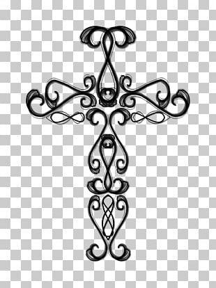 Octavius Christian Cross Drawing PNG
