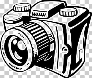 Black And White Camera Photography PNG