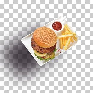 Cheeseburger Hamburger Fast Food French Fries Slider PNG