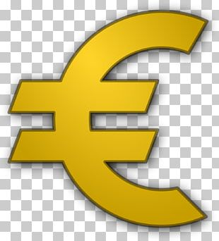 Euro Sign Currency Symbol Coin PNG