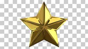 J&B Paint & Star Color Gold PNG