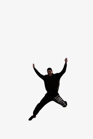 Jumping Man PNG