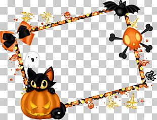 Borders And Frames Halloween Scrapbooking PNG