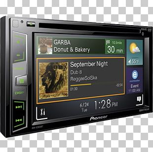 ISO 7736 Vehicle Audio DVD Radio Receiver Tuner PNG