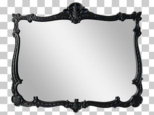 Mirror Frames Decorative Arts Black And White PNG