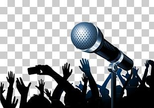 Karaoke Microphone Singing Music Ukulele PNG