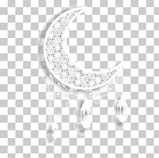 White Circle Pattern PNG