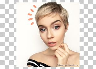 Eyebrow Hair Coloring Pixie Cut Cosmetics PNG