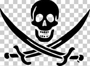 Jolly Roger Piracy Logo PNG