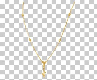 Necklace Chain Jewellery Gold Charms & Pendants PNG
