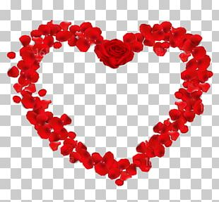 Valentines Day Heart Frame PNG