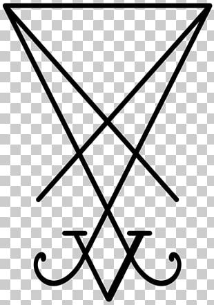 Lucifer Church Of Satan Sigil Satanism PNG
