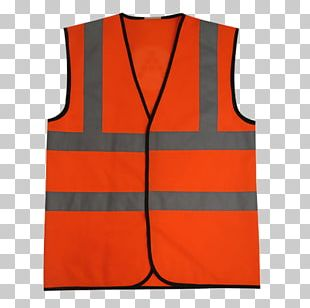 Gilets High-visibility Clothing Sleeveless Shirt PNG