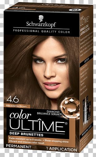 Hair Coloring Schwarzkopf Keratin Color Anti-Age Hair Human Hair Color PNG