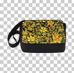 Yellow Shoulder Bag M Orange Red Black PNG
