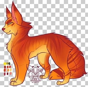 Cat Whiskers Warriors Dog Red Fox PNG
