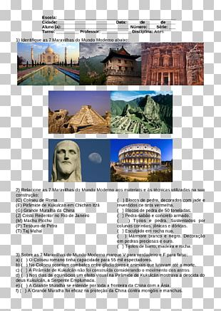 New7Wonders Of The World Christ The Redeemer Colosseum Seven Wonders Of The Ancient World PNG
