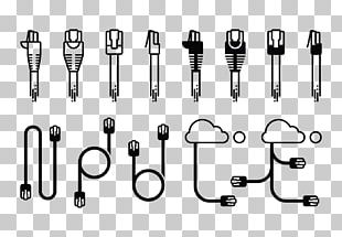 8P8C Computer Icons Electrical Connector Ethernet PNG