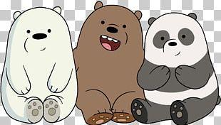 Polar Bear Giant Panda The Baby Bears T-shirt PNG