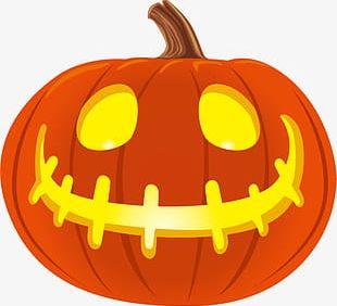 Cartoon Halloween Pumpkin PNG