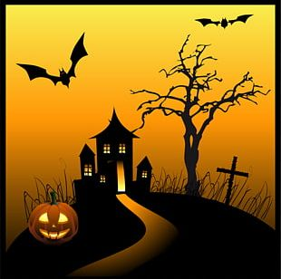 Haunted Attraction House Free Content PNG