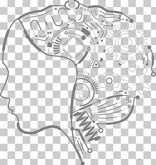 Artificial Intelligence Robot Human Illustration PNG