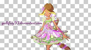 Flora Butterflix Winx Club PNG