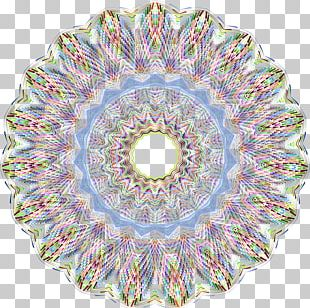 Kaleidoscope Symmetry Circle Game Pattern PNG