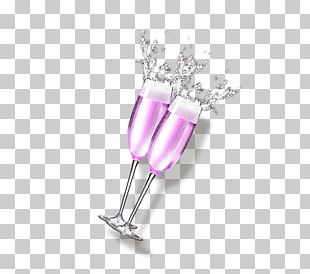 Red Wine Cocktail Cup PNG