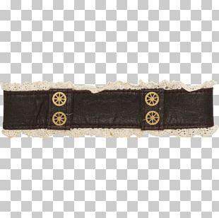 Belt Steampunk Collar Faux Leather & Lace Choker Fancy Dress 0 PNG