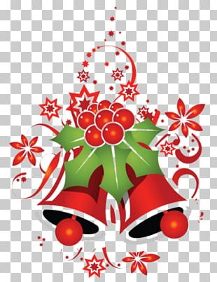 Santa Claus Christmas Jingle Bell PNG