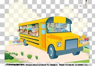 School Bus Public Transport PNG