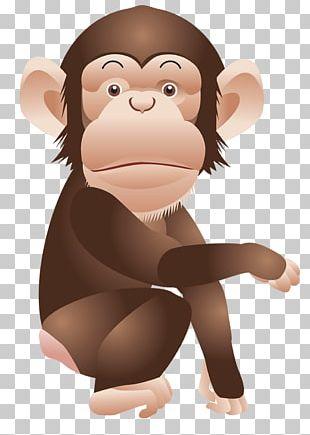 Chimpanzee Monkey Ape PNG