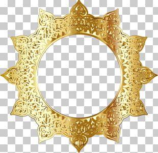 Frames Ornament Decorative Arts Gold PNG