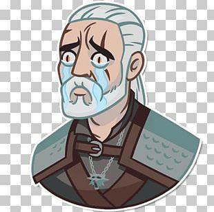 The Witcher Geralt Of Rivia Telegram Sticker Video Game PNG